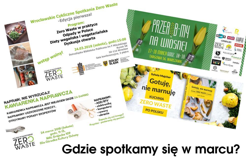 Polskie Stowarzyszenie Zero Waste w marcu