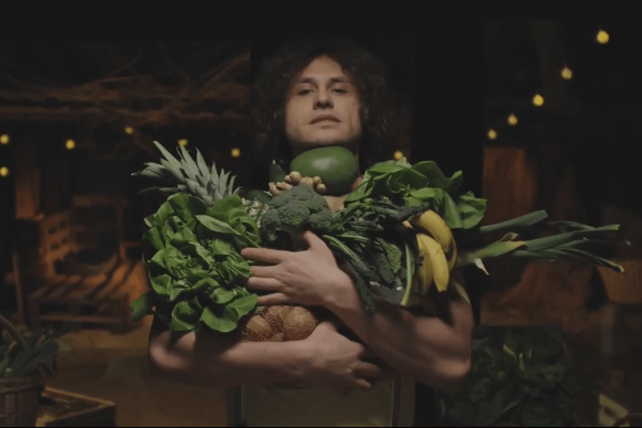 chłopak z warzywniaka
