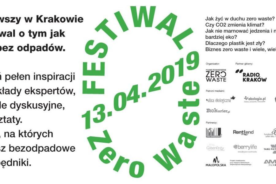Pierwszy Krakowski Festiwal Zero Waste już 13 kwietnia!