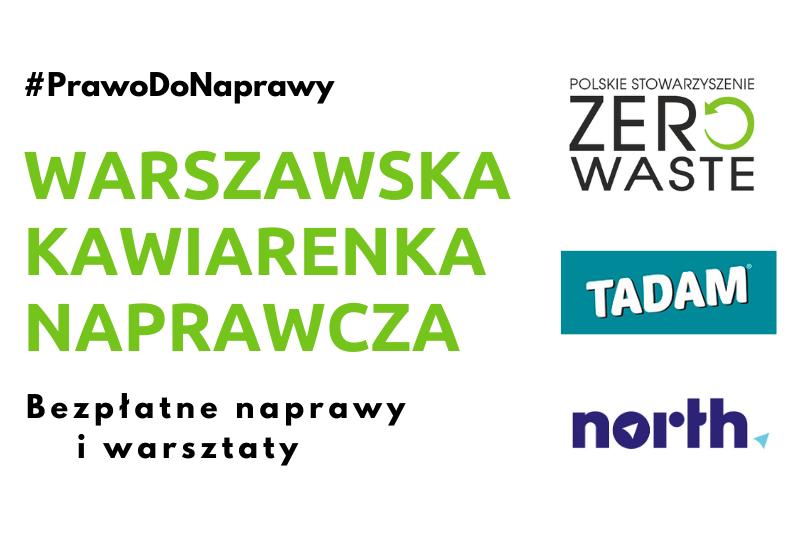 Warszawska Kawiarenka Naprawcza już 7 marca!